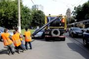 г. Москва, ул. Шаболовка. 8 августа 2008 года.